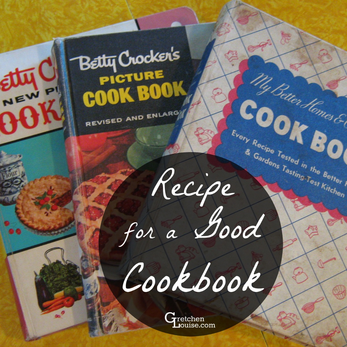 Recipe for a Good Cookbook