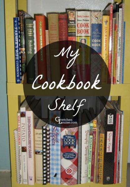 My Cookbook Shelf