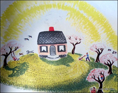 page from The Little House illustrated by Virginia Lee Burton