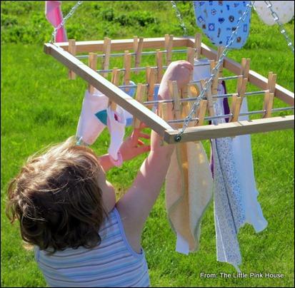 mini clothesline