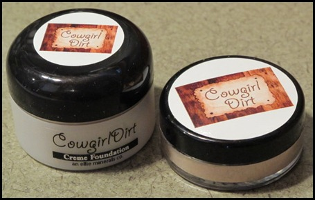 Cowgirl Dirt creme and powder foundations