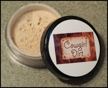 Cowgirl Dirt Foundation Powder