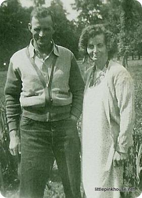 Great Grandpa Herb and Great Grandma Alma