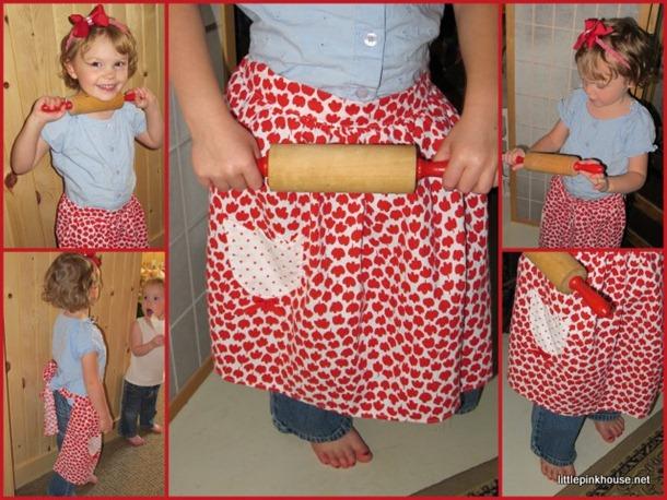 apron poses