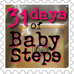 31 days of Baby Steps