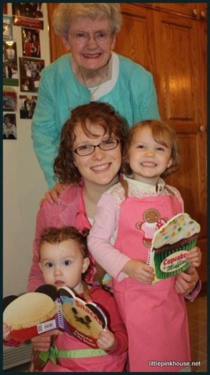 Grandma, Granddaughter, Great-Granddaughters