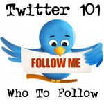 Twitter 101: Who To Follow