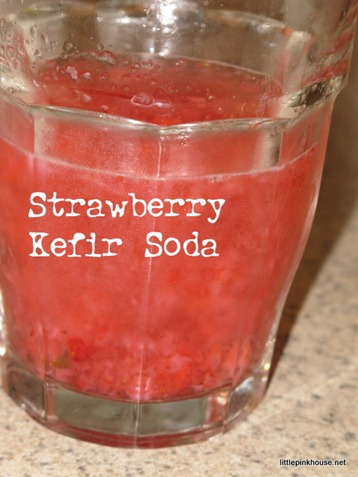 Strawberry Kefir Soda
