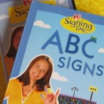 learning sign language through Bible memory