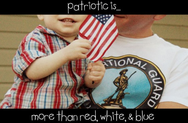 patriotic is more than red, white, and blue