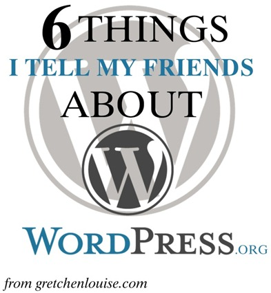 6 Things I Tell My Friends About WordPress.org https://gretchenlouise.com/?p=6362 via @GretLouise