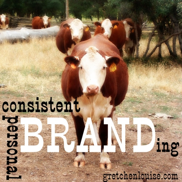 consistent (personal) branding