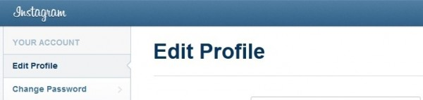 edit instagram username