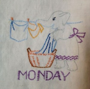 Monday towel