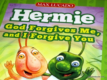 God Forgives Me, and I Forgive You - a Hermie and Wormie giveaway from @TommyNelson