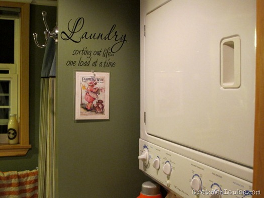 """Laundry..."" word art by Wall Graffiti Vinyl Lettering Etsy"
