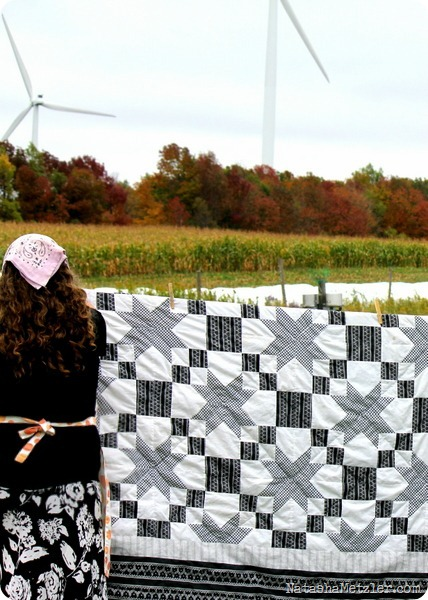 quilt and windmills
