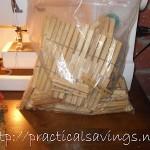 DIY Clothespin Bag