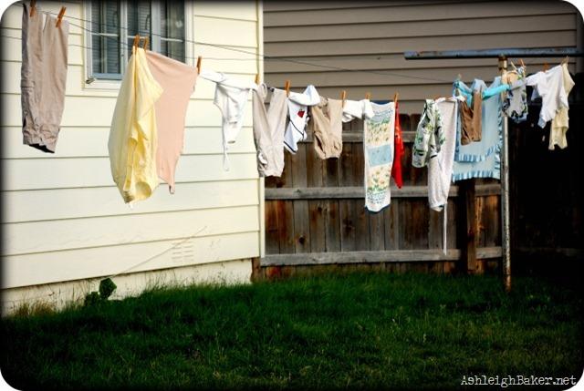 Ashleigh's Clothesline