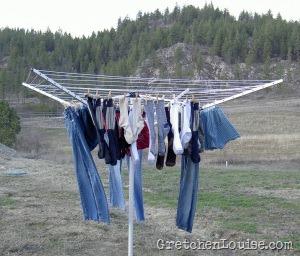 clothesline memories