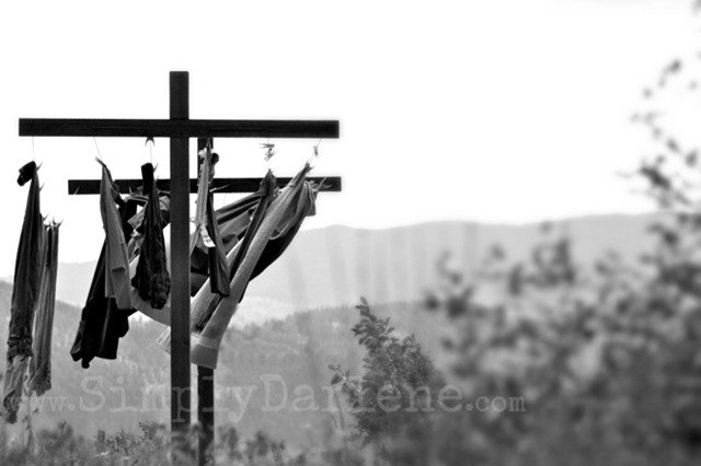 clothesline bw SD