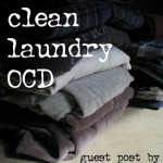 a case of clean laundry ocd