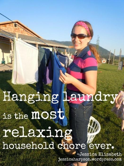hanginglaundry