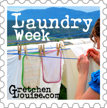 Laundry Week with @GretLouise