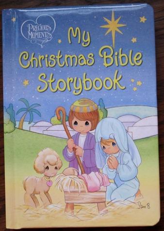 My Christmas Bible Storybook Giveaway!