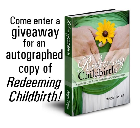 Come enter a #giveaway for an autographed copy of #RedeemingChildbirth! http://gretchenlouise.com/?p=8903
