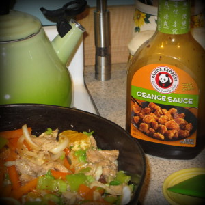 home-cooked Panda Express