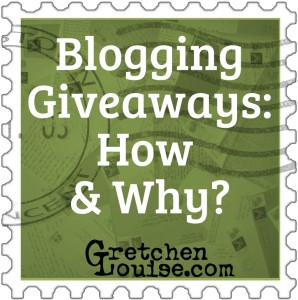Blogging Giveaways: How & Why?