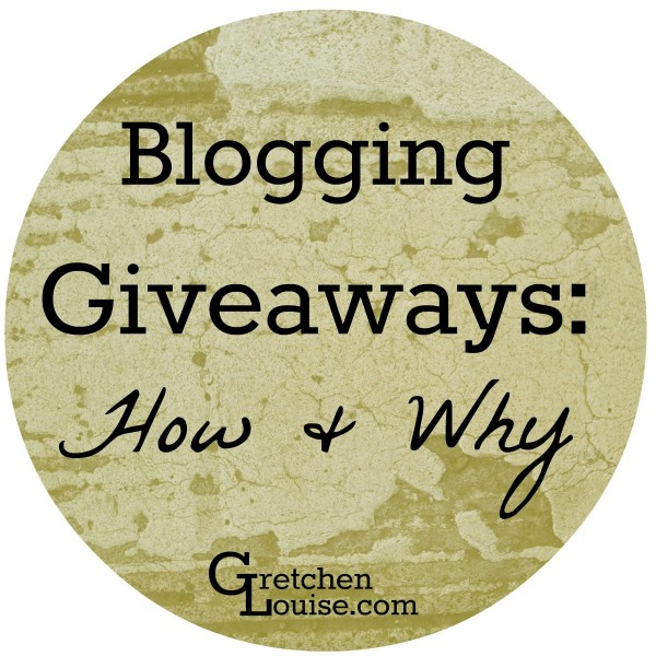 The How & Why of Blogging Giveaways