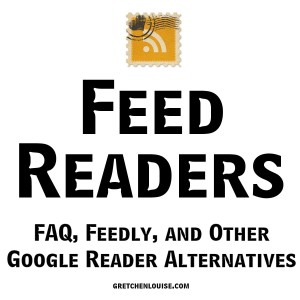 FAQ about RSS Feeds and Feed Readers...with reviews of Feedly and other Google Reader alternatives https://gretchenlouise.com/feed-readers/ via @GretLouise