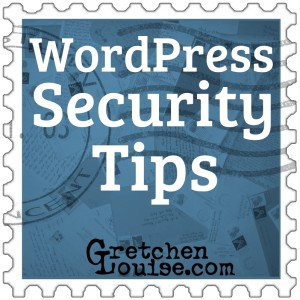 WordPress Security Tips from @GretLouise