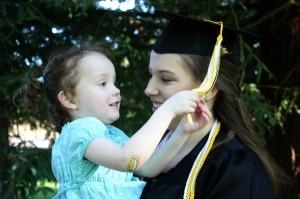 auntie graduates