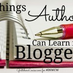 4 Things Authors Can Learn from Bloggers