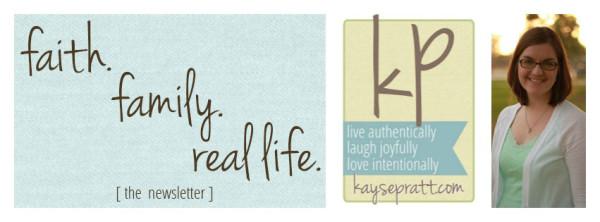 Kayse Pratt's Newsletter Header