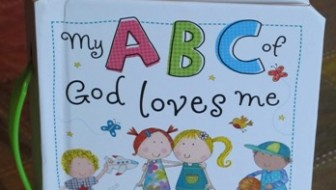 """My ABC of God loves me"""