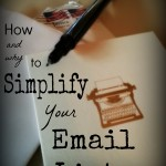 How and Why to Simplify Your Email Lists