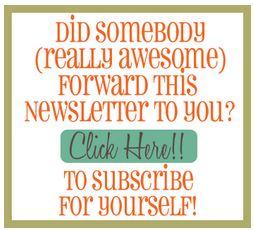 Example from Christian Mommy Blogger Newsletter
