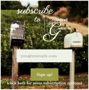 subscription box image example from Kindred Grace