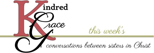 Kindred Grace's weekly digest header