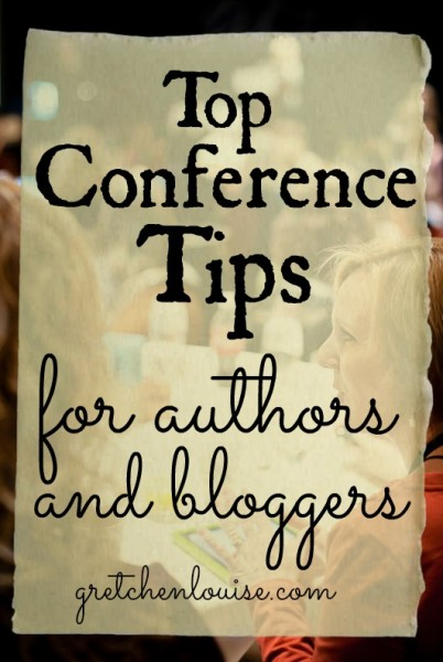 Top Conference Tips for Authors & Bloggers (via @GretLouise)