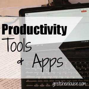 Productivity Tools & Apps via @GretLouise