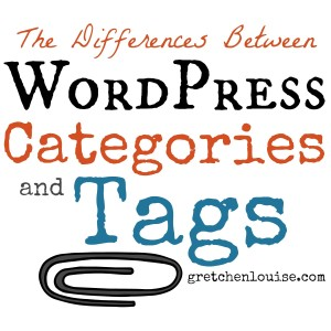 What are the differences between WordPress Categories and Tags? @GretLouise explains in 5 minutes.