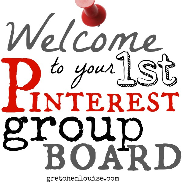 A welcome letter to share with your Pinterest group board contributors (from @GretLouise)