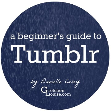Learn Tumblr 101 with this post by Tumblr fan Danielle Carey!