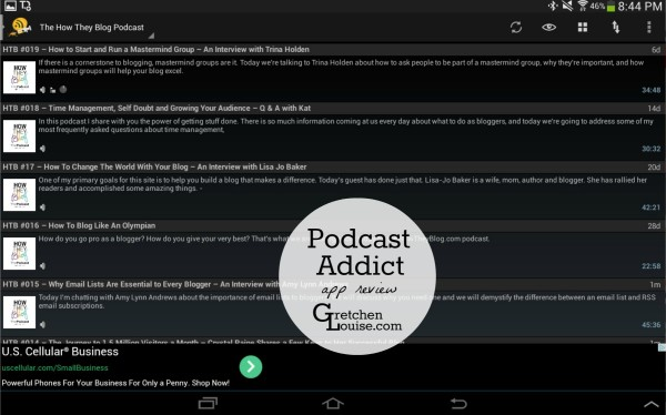 Podcast Addict (podcasts app review)