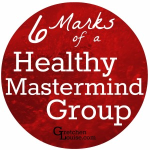 Whether you're looking for a mastermind group or evaluating whether the group you're in is right for you, here are six hallmarks that are always shared by a healthy meeting of masterminds.